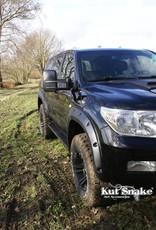 Toyota Spatbordverbreders voor Toyota Land CruiserToyota Land Cruiser 200 - Gladde afwerking