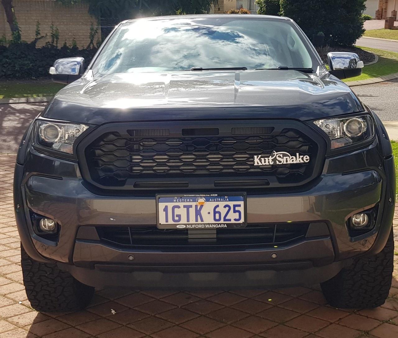 Ford Kut Snake Grill Ford Ranger series 3 Raptor