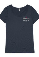 All4Adventure Discover-Explore-Inspire T-shirt (Damen)