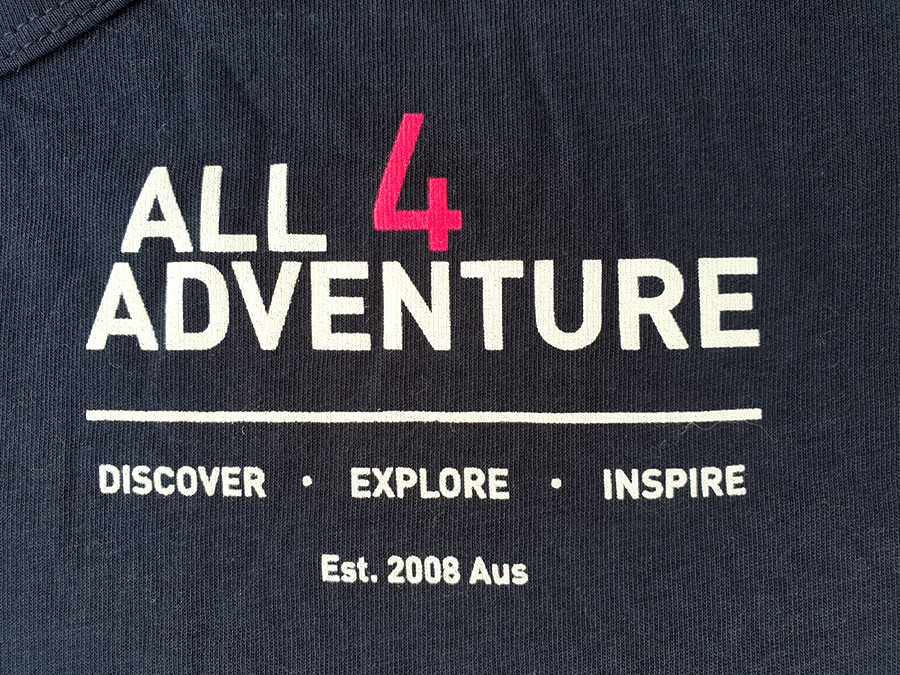 All4Adventure Discover-Explore-Inspire T-shirt (Messieurs)