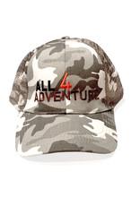 All4Adventure Grau Camo Mütze