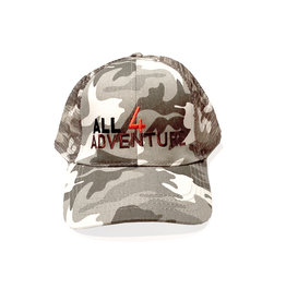 All4Adventure Grau Camo Mütze