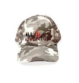Grijze camouflage cap