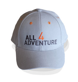 All4Adventure Grey  Cap