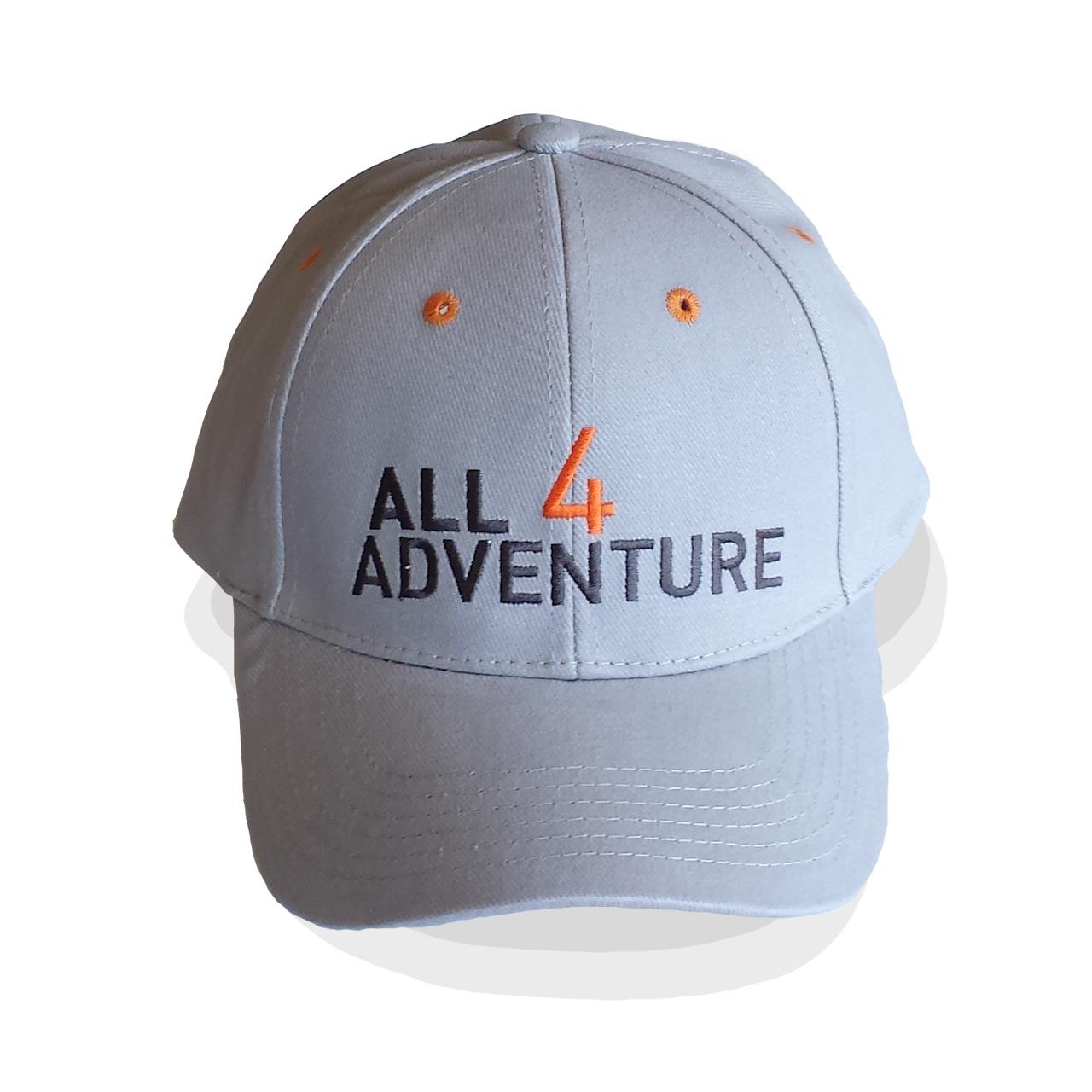 All4Adventure Grey  Cap