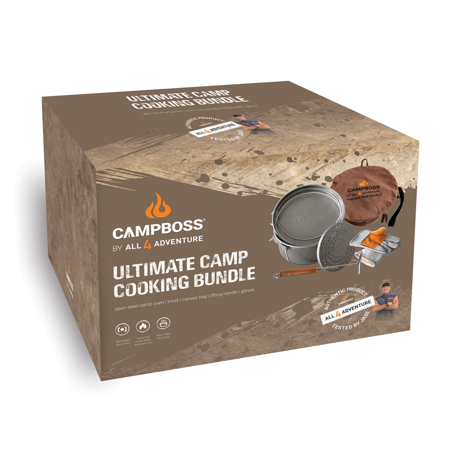 All4Adventure CampBoss Forfait Cuisine de Camp Ultime