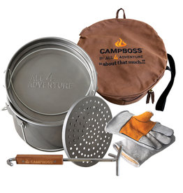 CampBoss Ultimate Camp Cooking Bundle