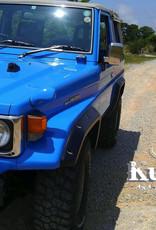 Toyota Kotflügelverbreiterung Toyota Land Cruiser BJ7#,FJ7#, HJ7#,HZJ7#,HDJ7#,FZJ7#,PZJ7# 1985 up to 2007 - 55 mm breit