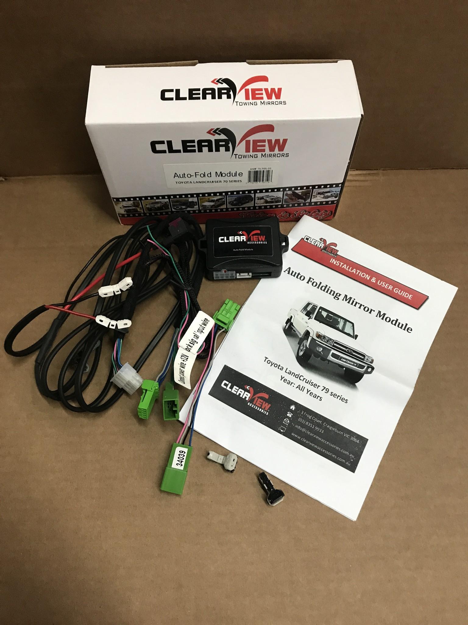 ClearView Auto-Fold Module voor inklapbare spiegels