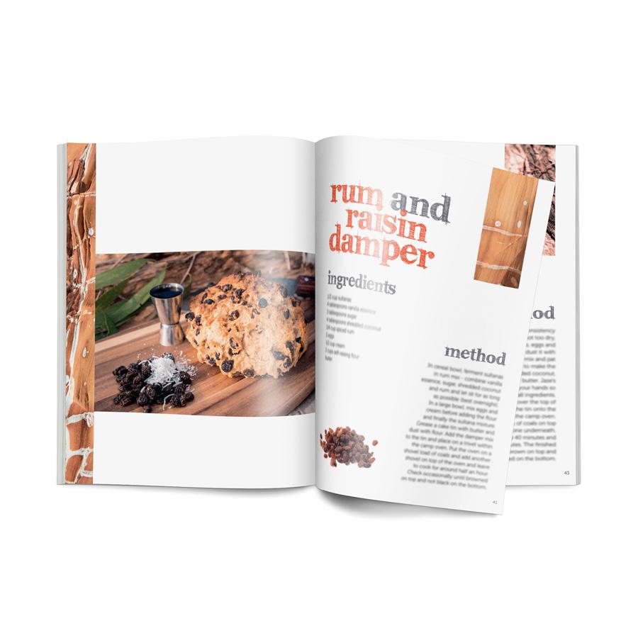 All4Adventure Kochbuch Australische Brotausgabe