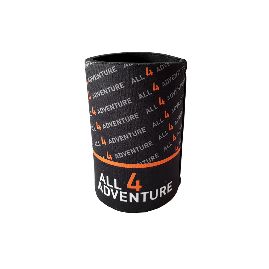 All4Adventure Stubby Cooler Black