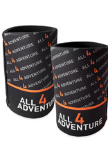 All4Adventure Stubby Cooler Noir