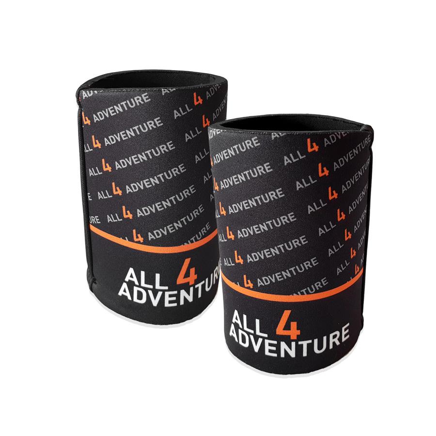 All4Adventure Stubby Cooler Schwarz