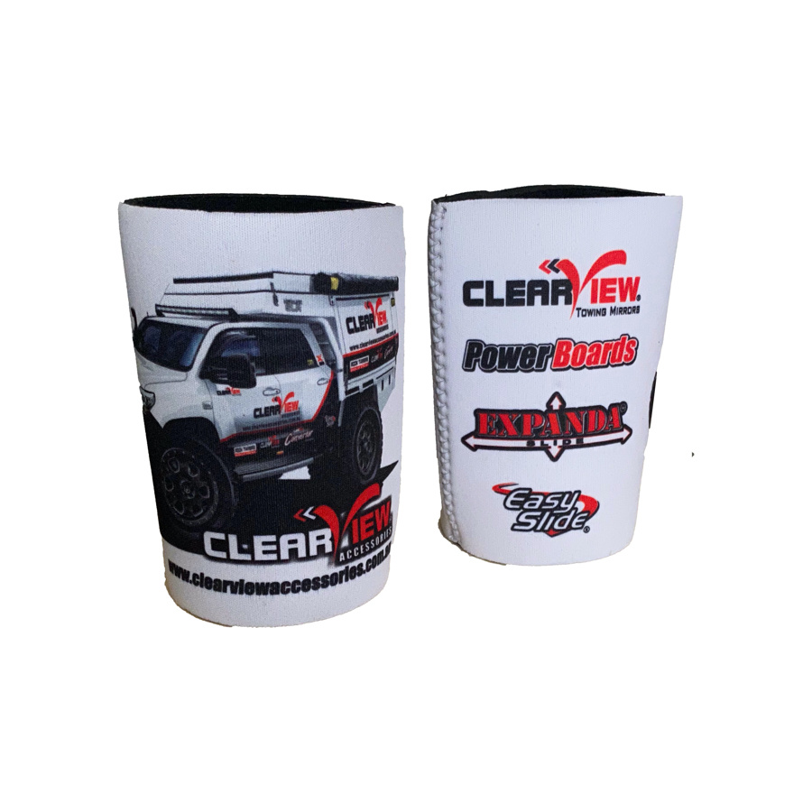 ClearView ClearView Stubby Cooler White