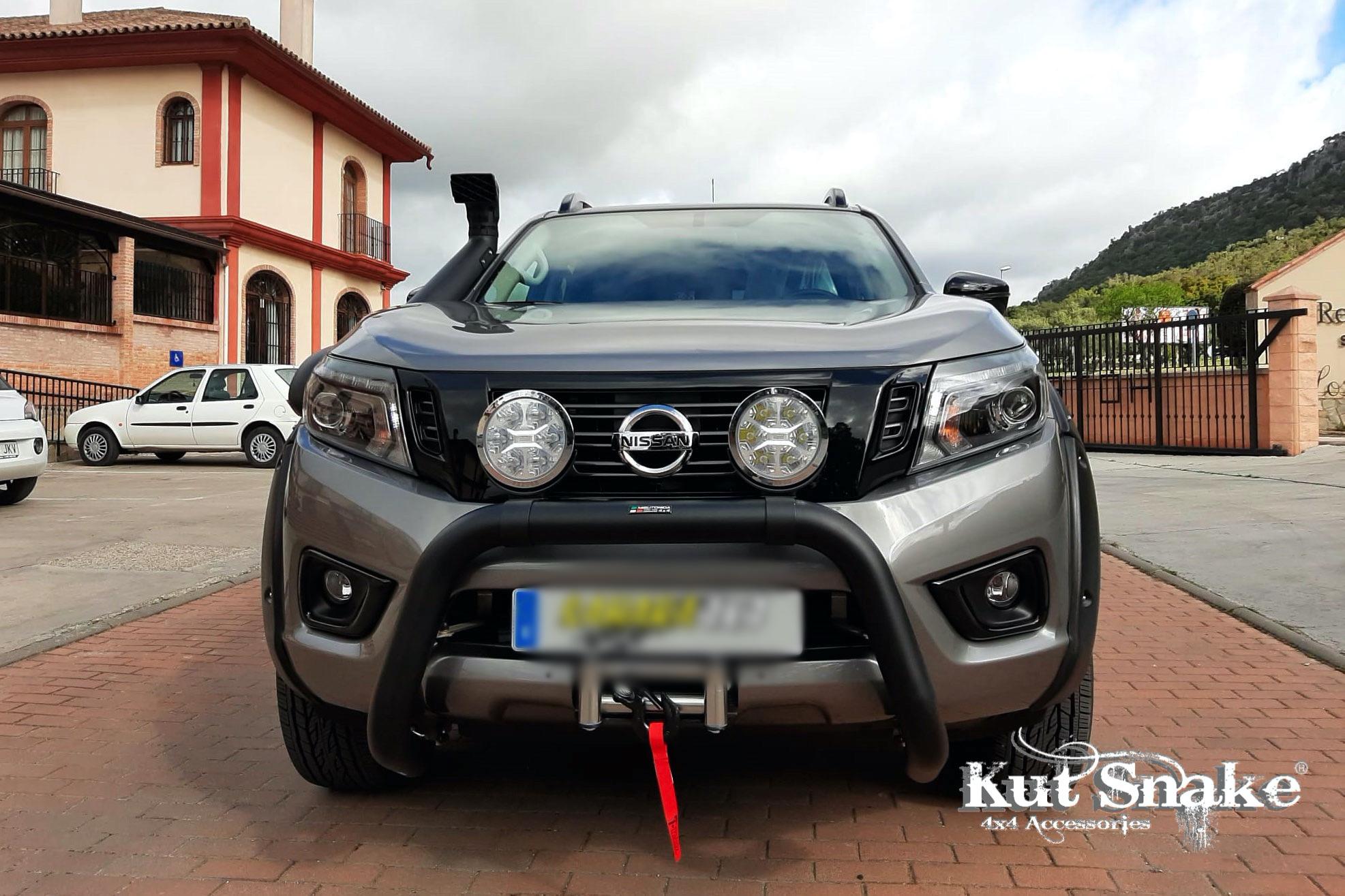 Nissan élargisseurs d'ailes pour Nissan Navara D23-standard AD-BLUE- 50 mm