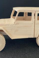 Wooden 4x4 - Land Cruiser 40 series