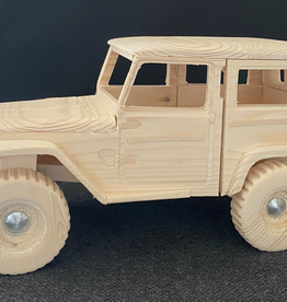 Wooden 4x4 - Land Cruiser 40 series