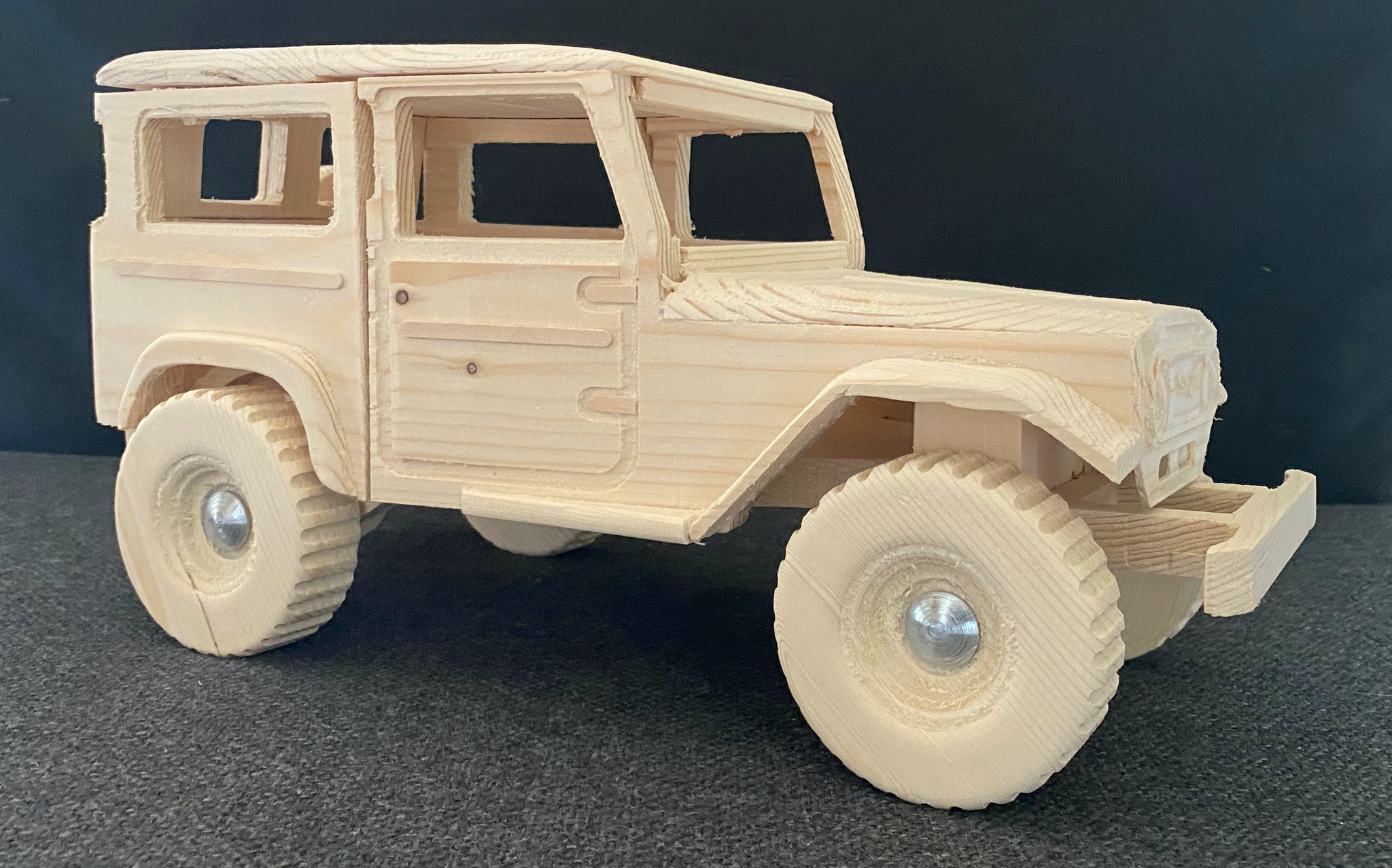 Houten 4x4 - Land Cruiser 40-serie
