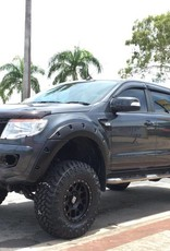 Ford Fender Flares for Ford Ranger PX1, PX2 and PX3 Raptor/Wildtrak - 55 mm wide - FRONT only