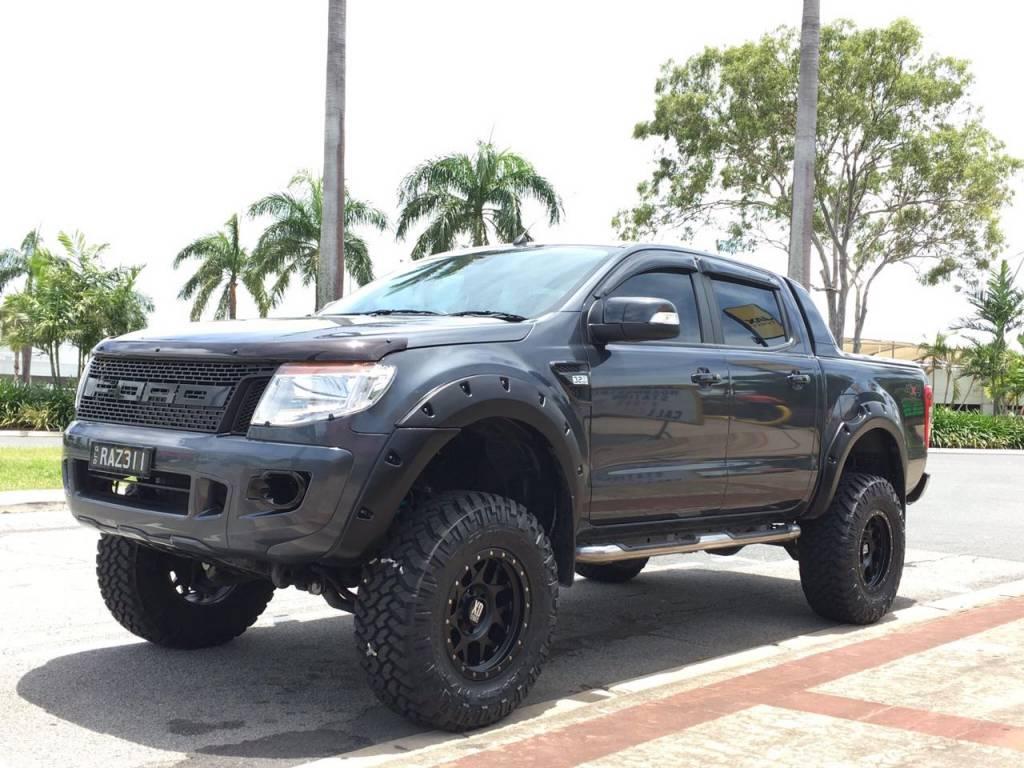 """Ford Kotflügelverbreiterung Ford Ranger PX1, PX2 und PX3 Raptor/Wildtrak """"Standard"""" FRONT only"""