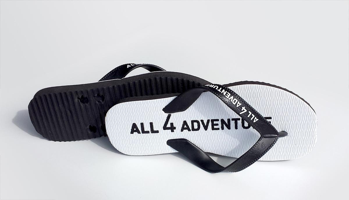 All 4 Adventure Teenslippers