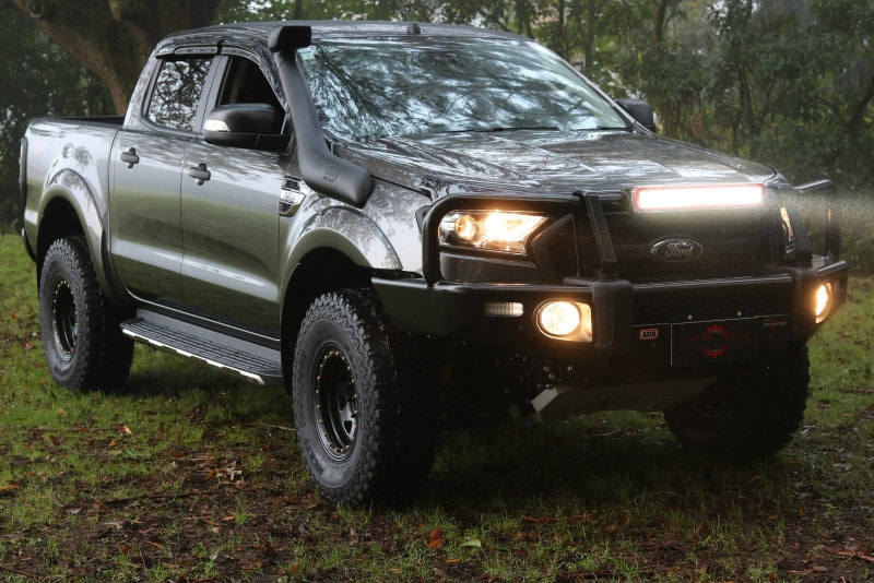 WeatherShields  Weathershield Zijwindscherm Ford Ranger PX2/3 -4-delig