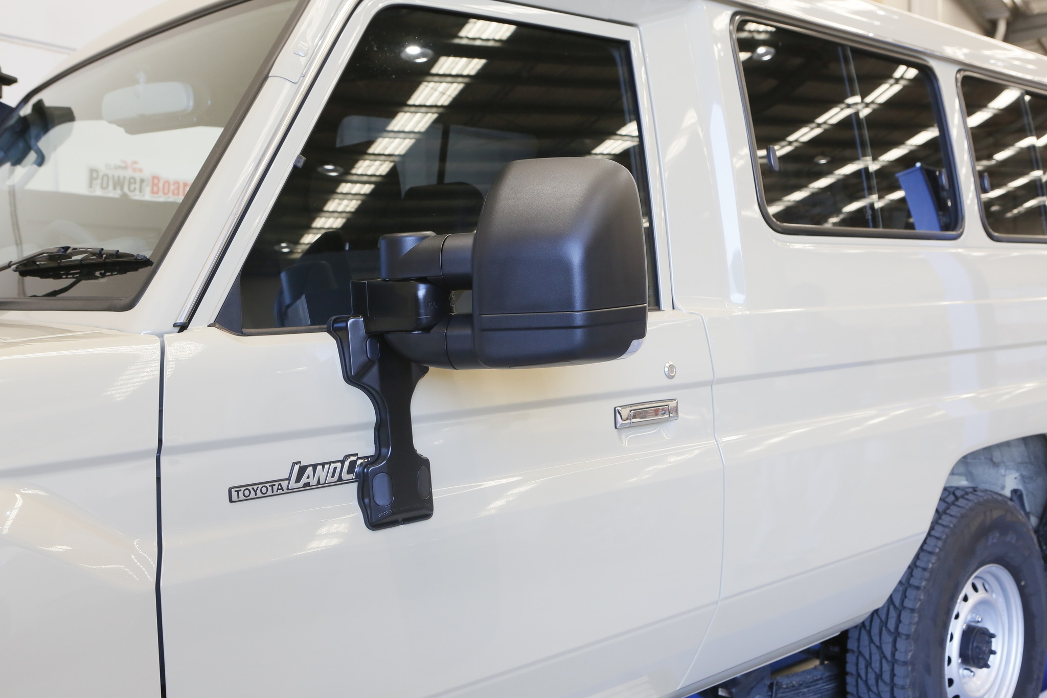 Toyota NEXT GENERATION: Clearview Extra breite spiegel Toyota Land Cruiser 70 serie