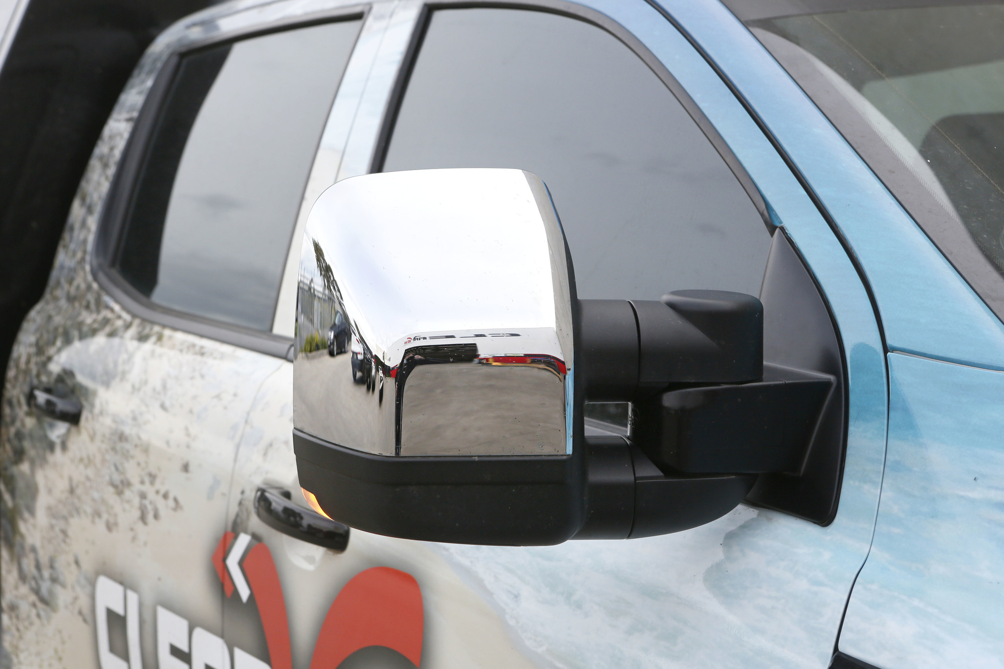 Toyota NEXT GENERATION: Clearview Towing Mirror Toyota Land Cruiser 70 series