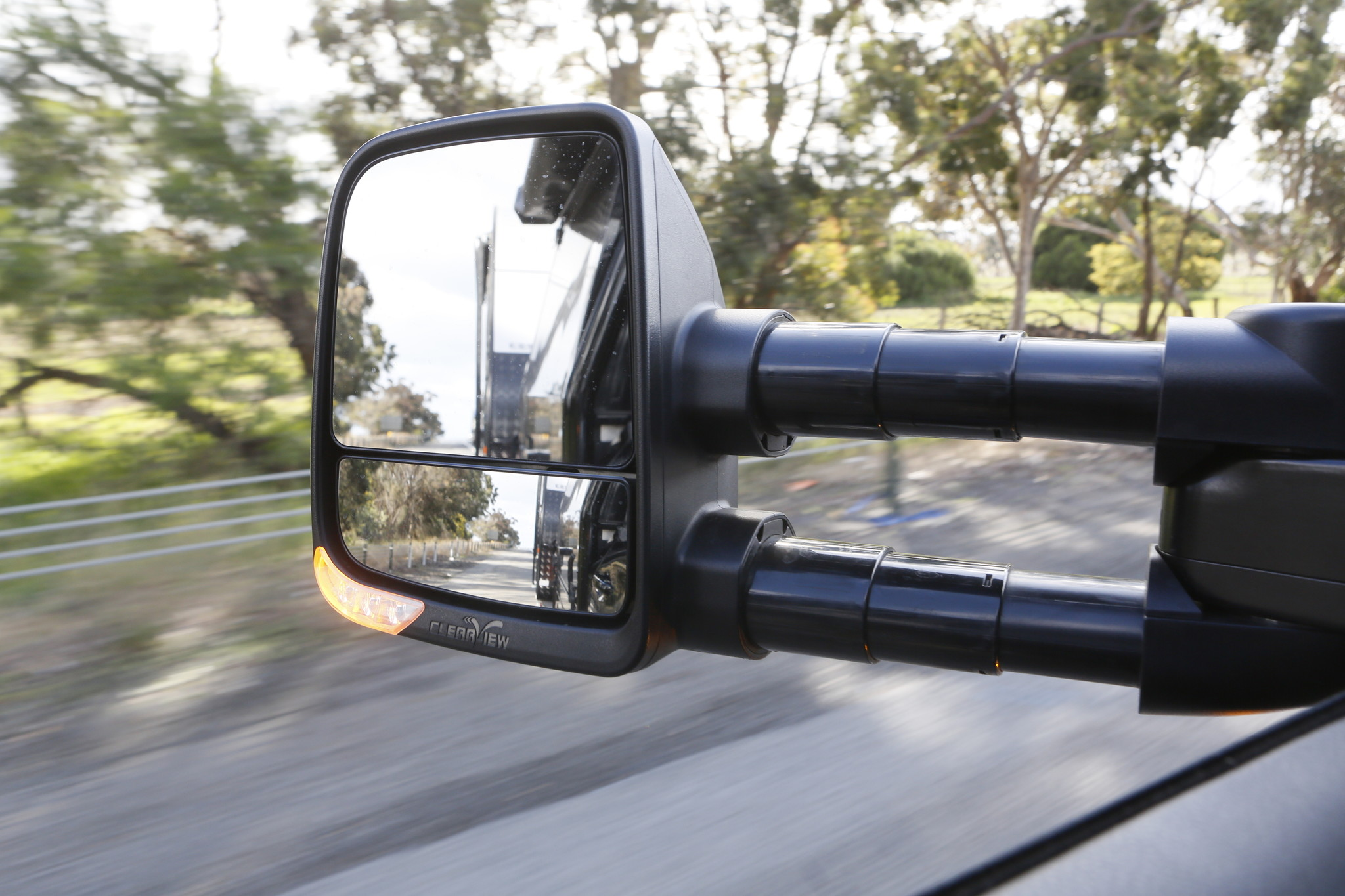 Toyota NEXT GENERATION: Clearview Towing Mirror Toyota Land Cruiser 200 serie