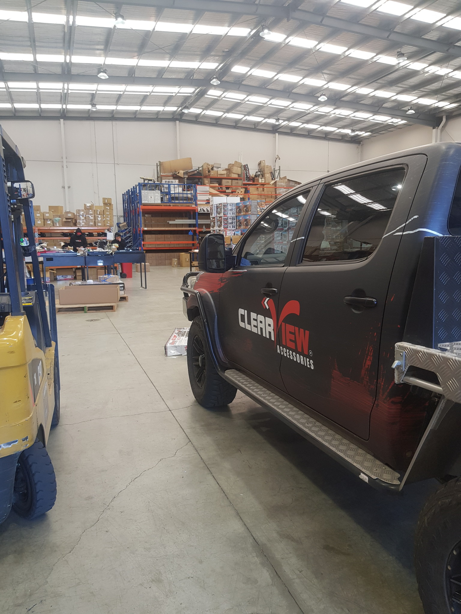 Toyota NEXT GENERATION: Clearview Towing Mirror Toyota HiLux SR