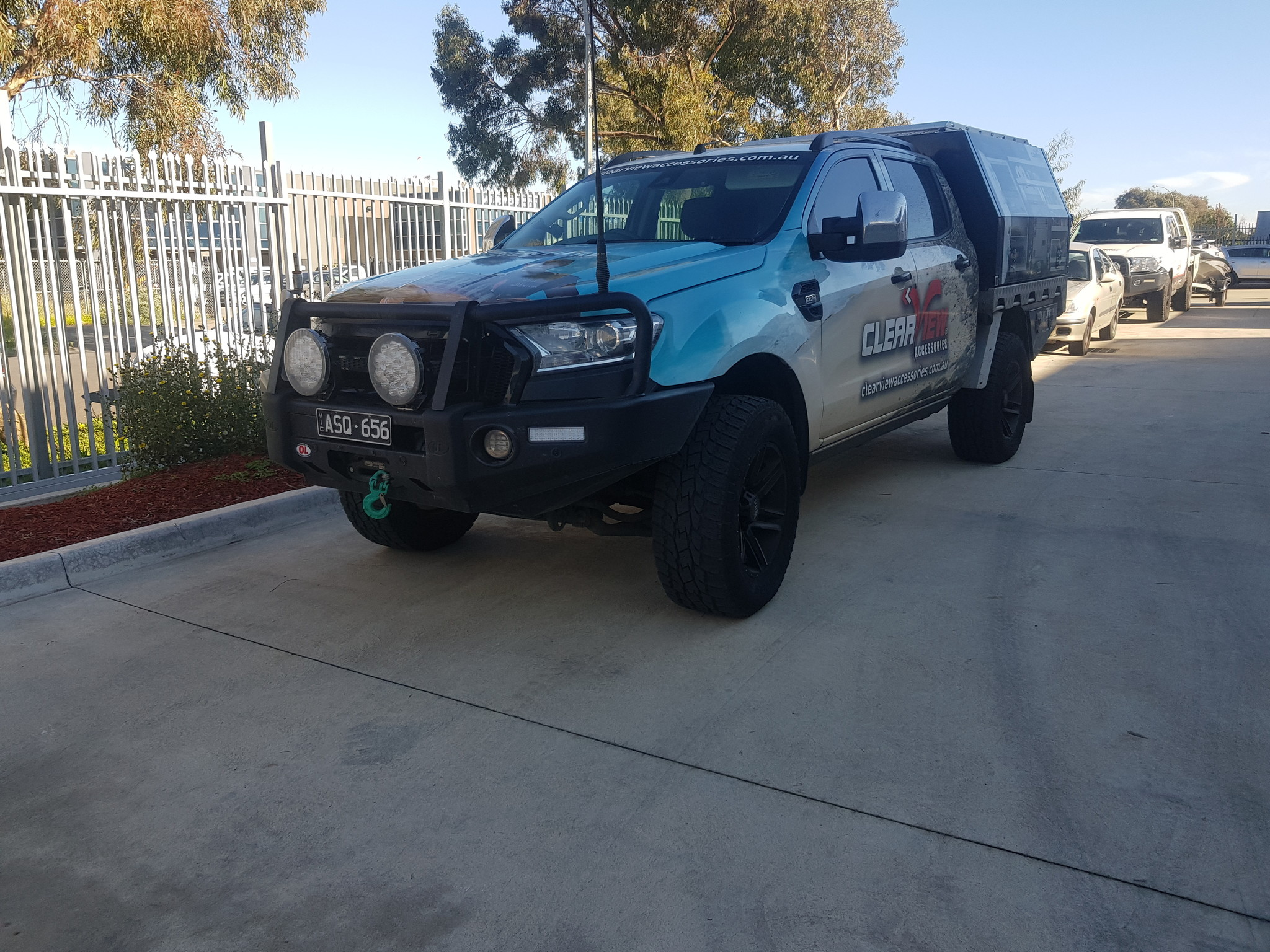 Toyota NEXT GENERATION: Clearview Towing Mirror Ford Ranger PX