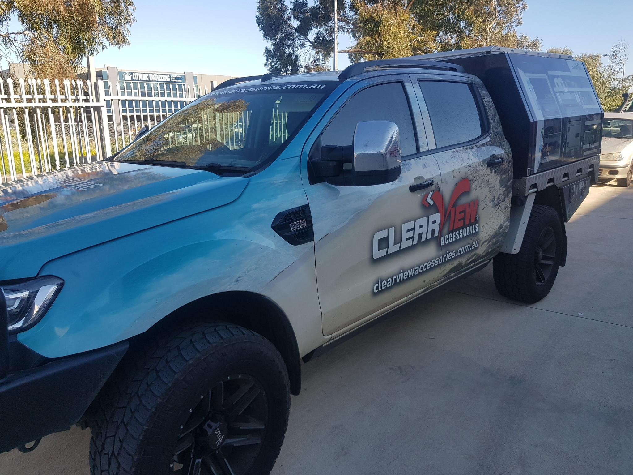 Toyota NEXT GENERATION: Clearview rétroviseurs miroir extra-large Ford Ranger PX