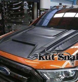 Ford Hood Scoop T-REX - Smooth finish Ford Ranger