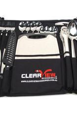 ClearView Kampeer keuken/bestek set