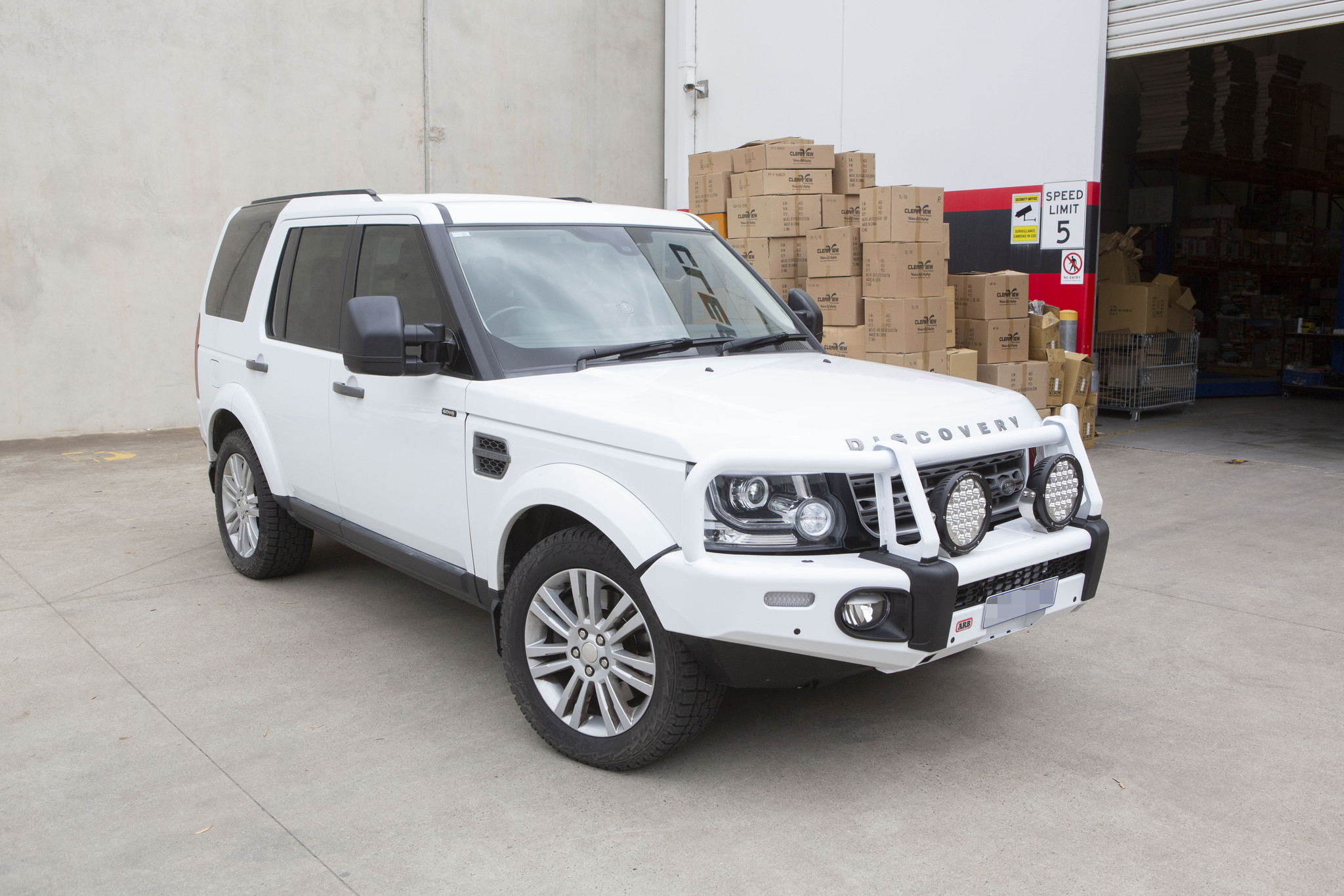 Toyota NEXT GENERATION: Clearview Extra breite spiegel Land Rover Discovery 3/4