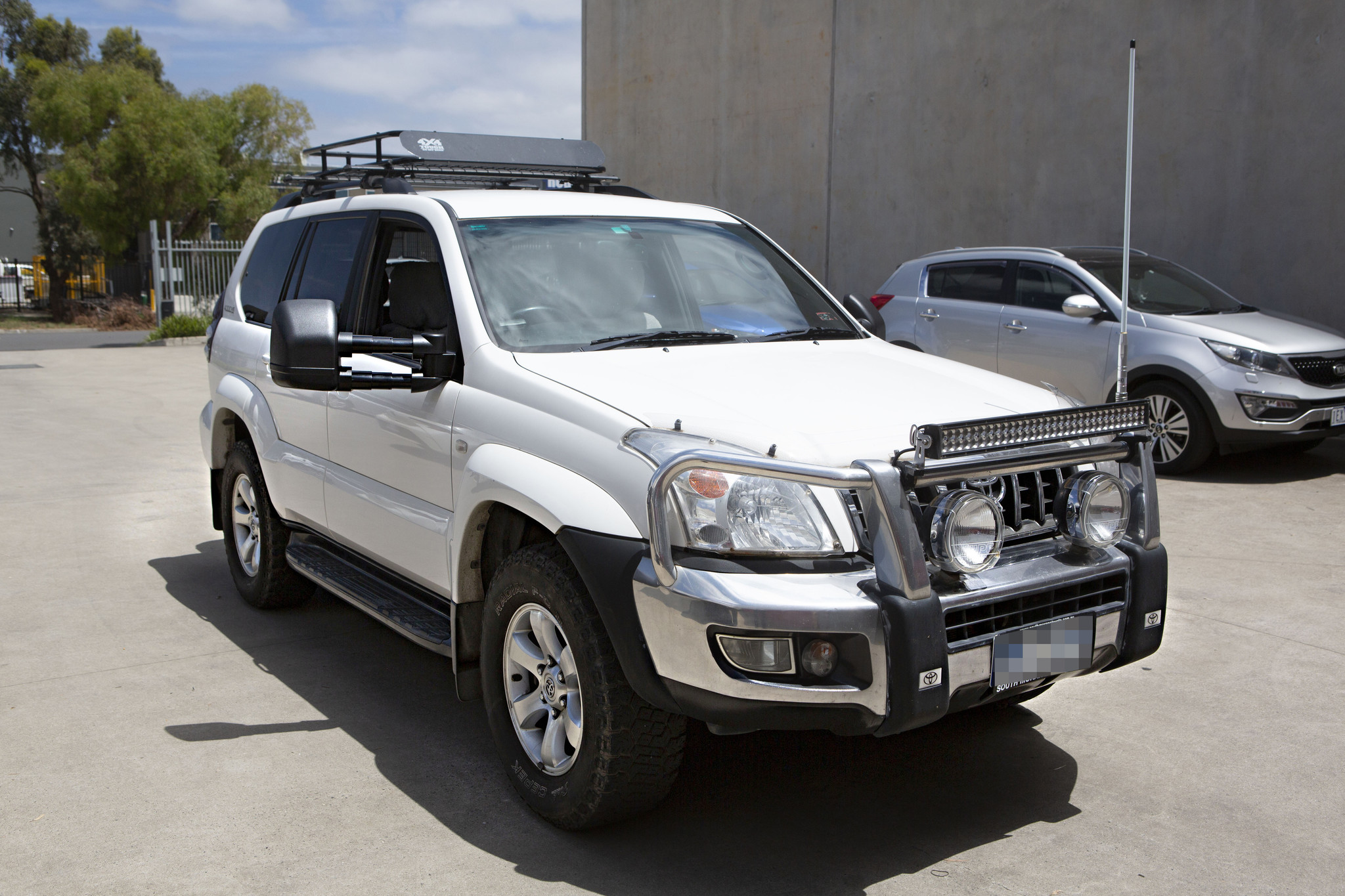 Toyota NEXT GENERATION: Clearview Towing Mirror Toyota Land Cruiser 120 serie