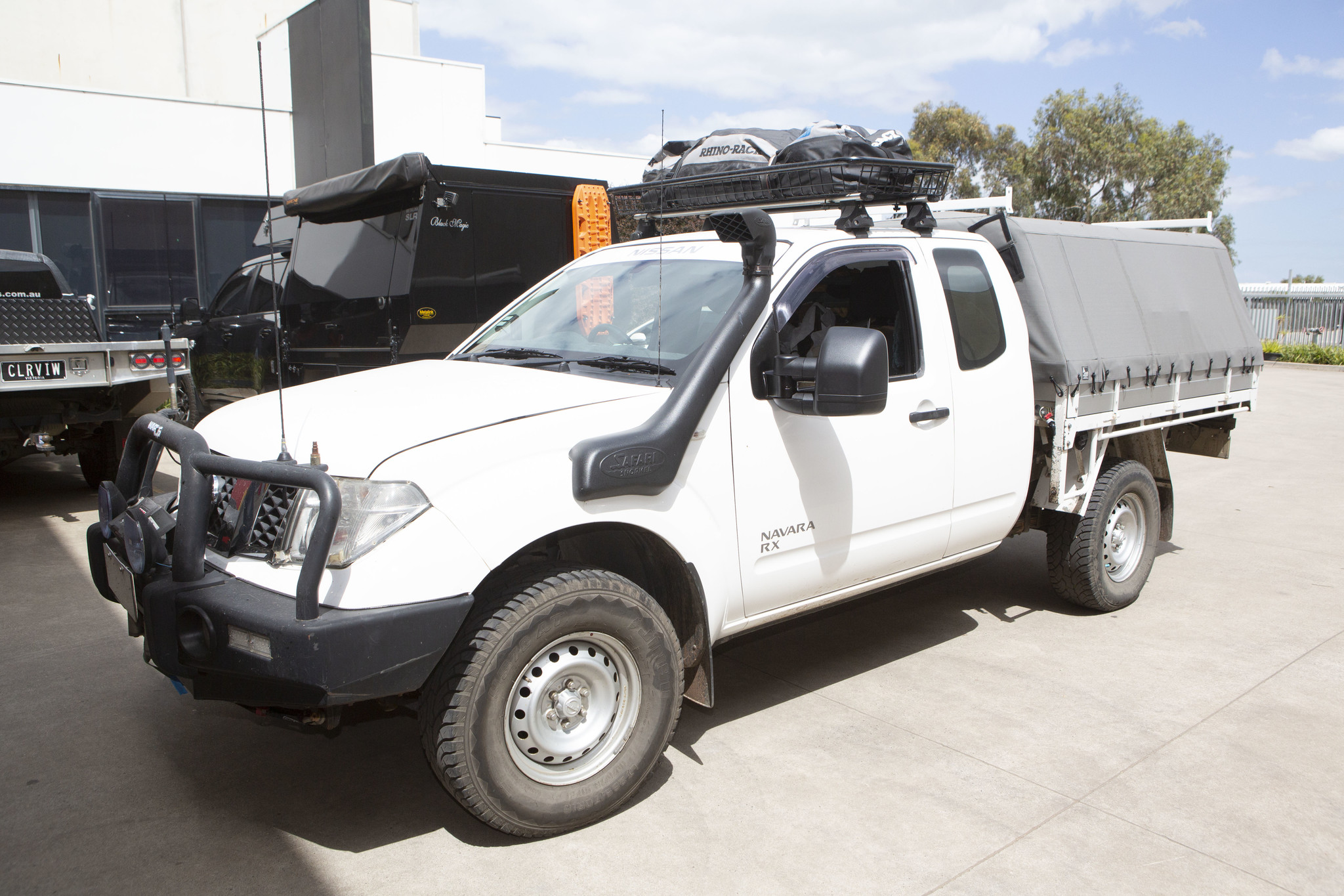 Toyota NEXT GENERATION: Clearview Towing Mirror Nissan Navara D40