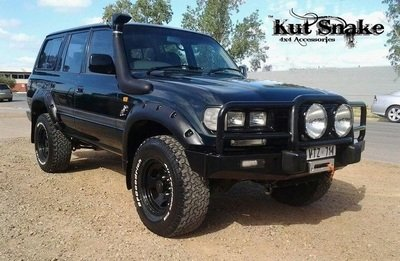 Toyota Fender Flares for Toyota Land Cruiser 80 - 65 mm wide