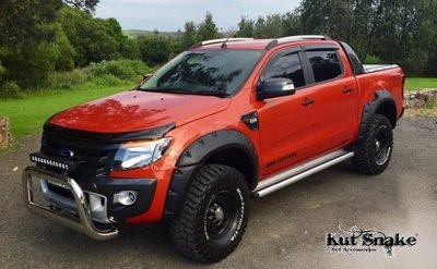 "Ford Spatbordverbreders Ford Ranger PX1, PX2 en PX3 ""Monster"" - 95 mm breed"