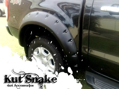 "Ford Fender Flares Ford Ranger PX1, PX2 and PX3 ""Monster""- 95 mm wide"