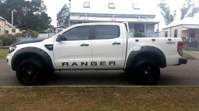 "Ford Fender Flares Ford Ranger PX ""Monster""- 95 mm wide"