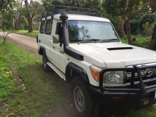 Toyota Kotflügelverbreiterung Toyota Land Cruiser 78 - 50mm breit
