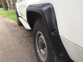 Toyota Fender Flares for Toyota Land Cruiser 78 - 50 mm wide