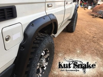 Toyota Fender Flares for Toyota Land Cruiser 76 - 50 mm wide