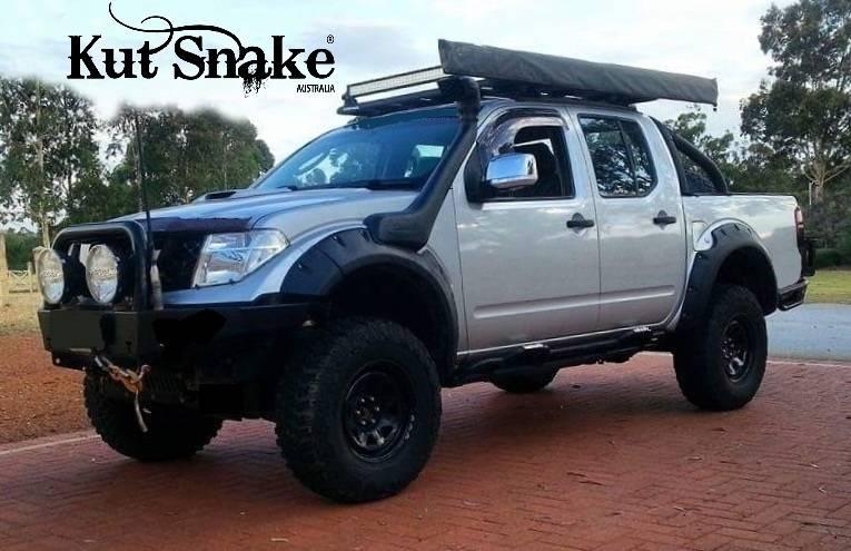 Nissan Spatbordverbreders Nissan Navara D40 - 75 mm breed