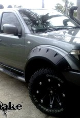 Nissan Spatbordverbreders Nissan Navara D40 - 80 mm breed