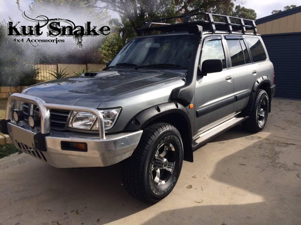 Nissan Fender Flares for Nissan Patrol Y61 - 50 mm wide