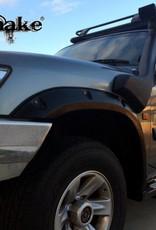 Nissan Spatbordverbreders voor  Nissan Patrol Y61 - 50 mm breed