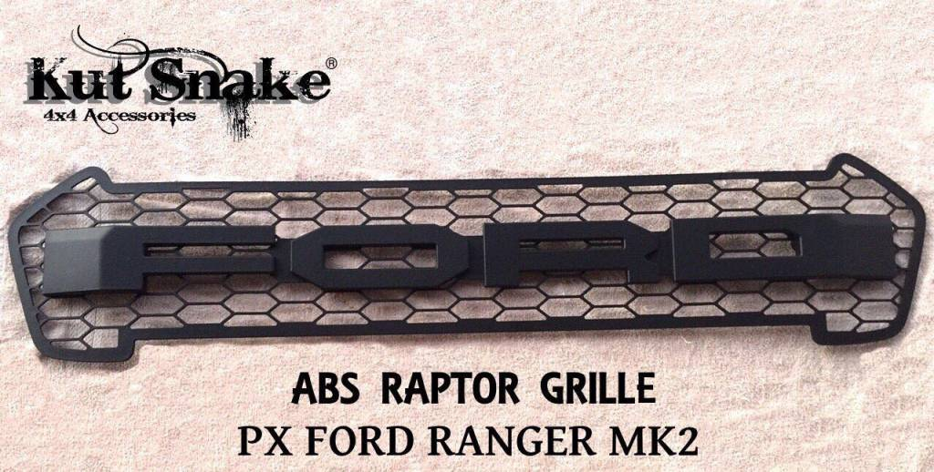 "Ford ""Raptor"" look-a-like grill Ford Ranger series 2"