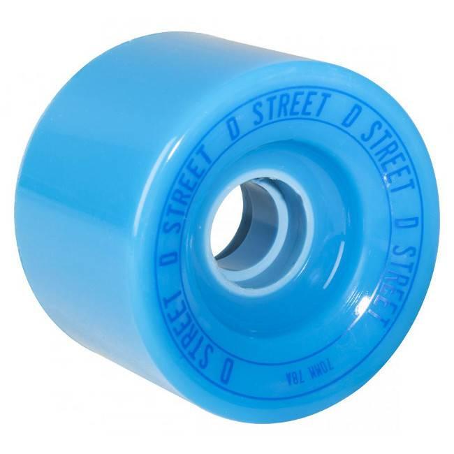 D-Street D-Street wheels relay blue 70mm 78A 4pk